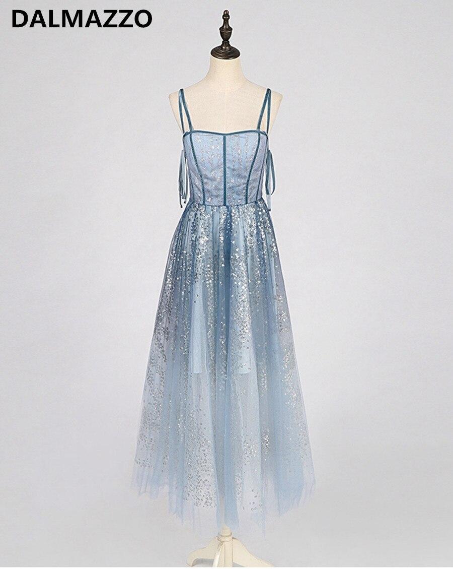 Haut de gamme personnalisé femmes maille paillettes Spaghetti sangle Sexy balançoire longue robe 2019 été Design élégant dames piste robe de soirée