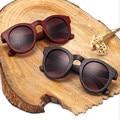 Oculos new maré restaurar antigas formas óculos de sol de madeira óculos de sol das mulheres óculos de sol de turismo e lazer palhaço estrela estilo hot