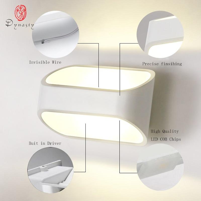 Moderne aluminijaste LED stenske svetilke 5W modna jedilnica - Notranja razsvetljava - Fotografija 5