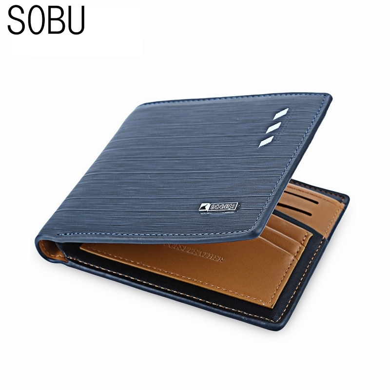 2017 fashion men short wallets  dollar price Male leather business money purses credit card photo holder wallet K029 frank buytendijk dealing with dilemmas where business analytics fall short