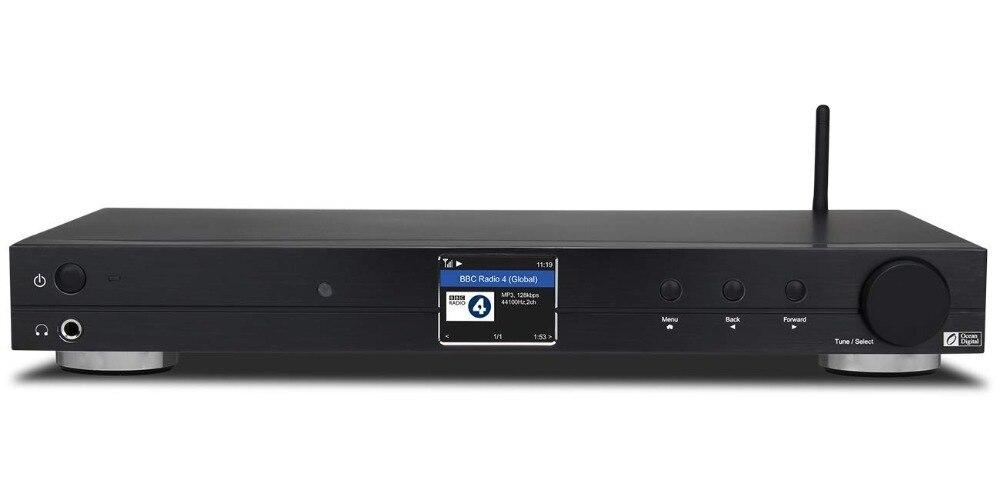 WiFi/DAB +/FM/UPnP/DLNA Digital Oceano WR10 Internet BT Rádio Ethernet RJ45 6.35 milímetros line Out 1U Chassis 430 milímetros caso com Bluetooth