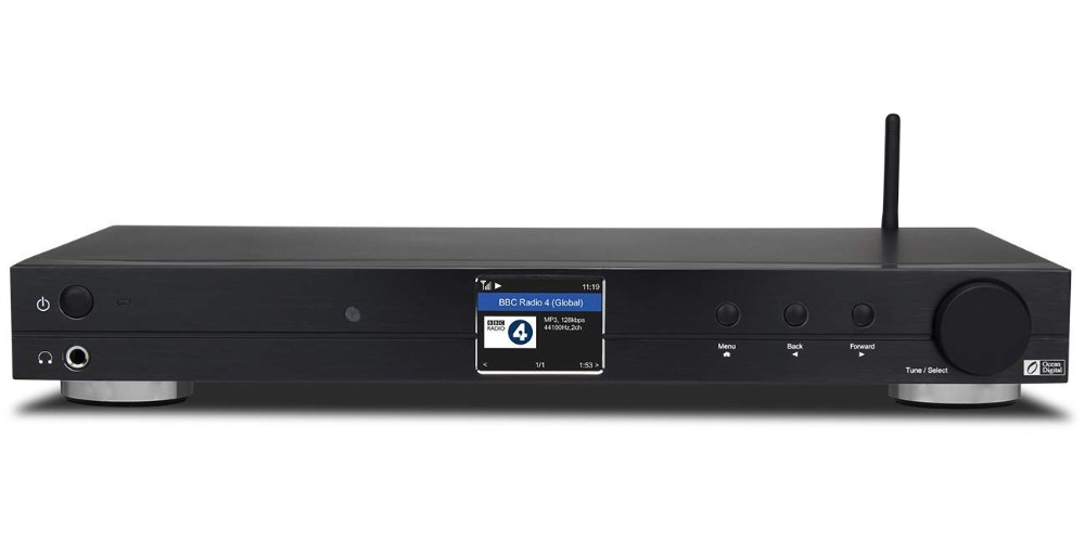 WiFi/DAB +/FM/UPnP/DLNA Océan Numérique WR10 Internet BT Radio Ethernet RJ45 6.35mm line Out 1U Châssis cas 430mm