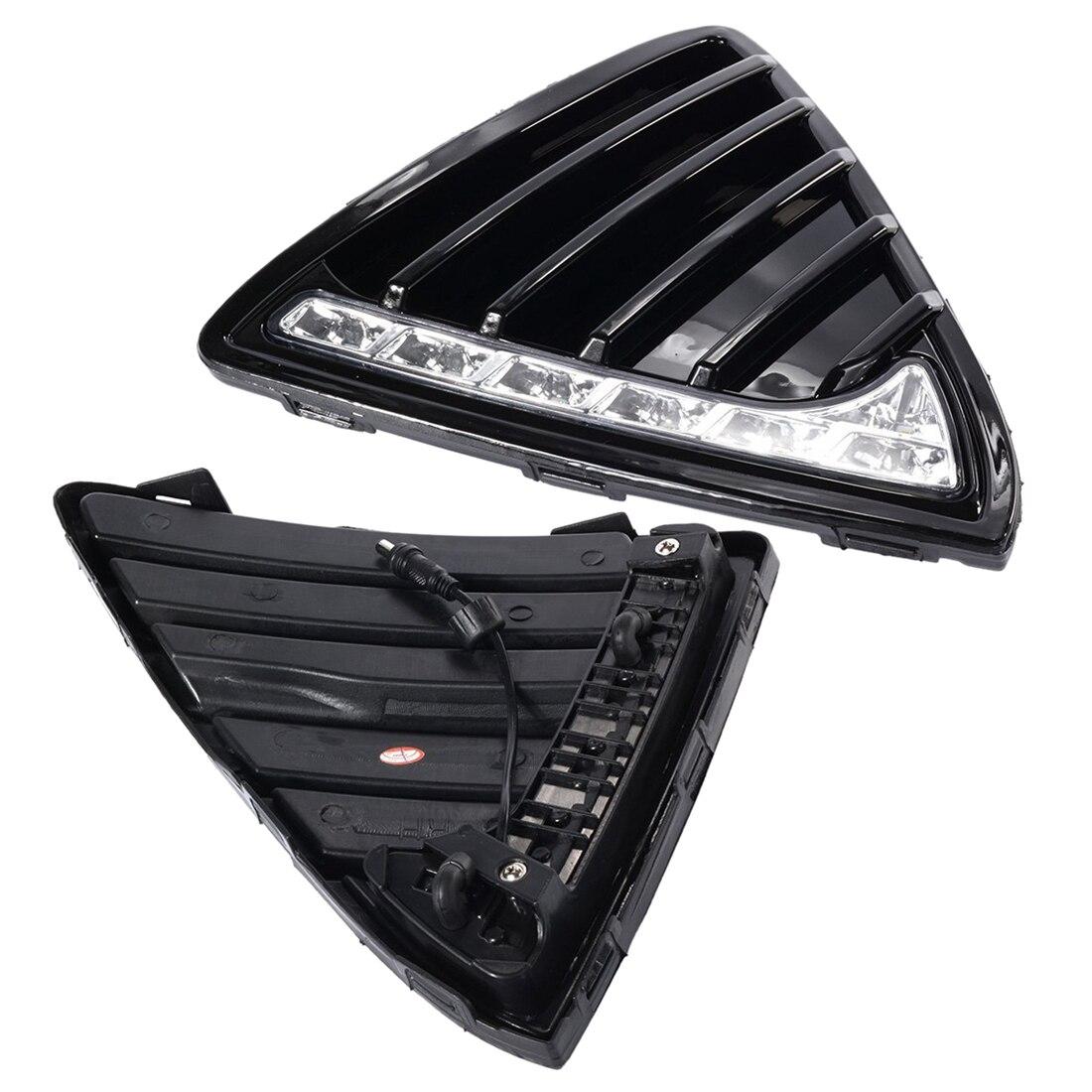 2x Car LED Daytime Running Light For Ford Focus Fog Head Lamp DRL 2011-2014 MA141 White