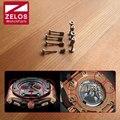 8 peças/set inner hexagon parafusos relógio para AP ROO ROYAL-OAK-OFFSHORE F1 relógio moldura caso de volta Fenda do parafuso