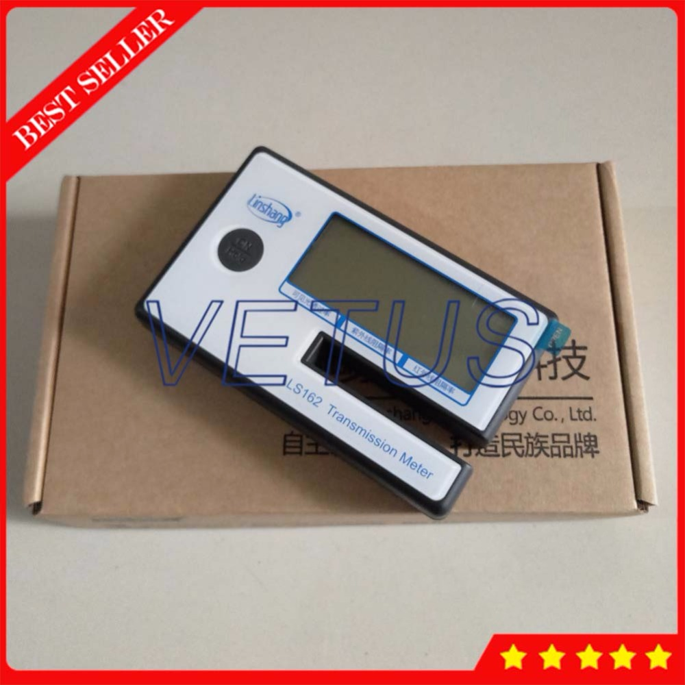 LS162 3 in 1 UV IR rejection Visible Light Transmission Meter for window tint filmed glass and side windshield tester the window office paper sticker pervious to light do not transparent bathroom window shading white frosted glass tint