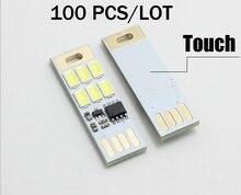 100 pieces/Lot Portable 5V Mini Lamp SMD 5730 USB Lampada LED Night Light outdoor camping