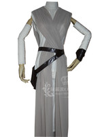 2016 New Star Wars 7The Force Awakens Rey Uniform Moive Jedi Halloween Cosplay Costumes For Adult Women Custom Made