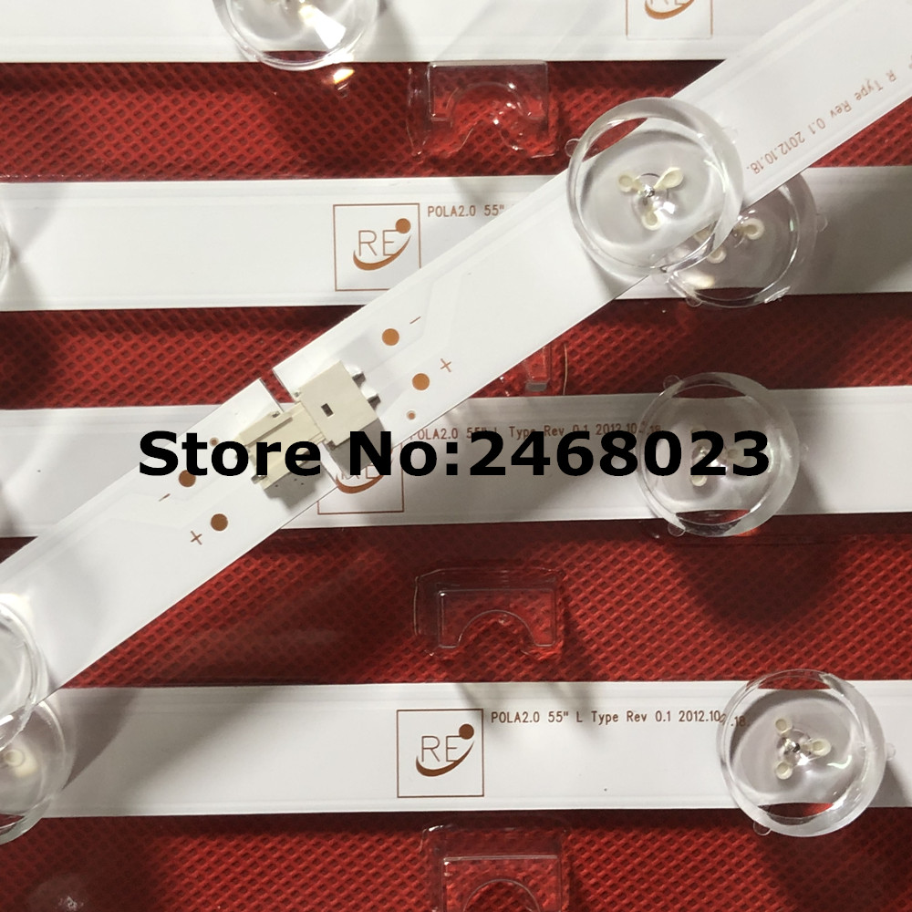 100 New 14 PCS set LED backlight strip bar LZ55O1LCEPWA A B for LG 55 inch
