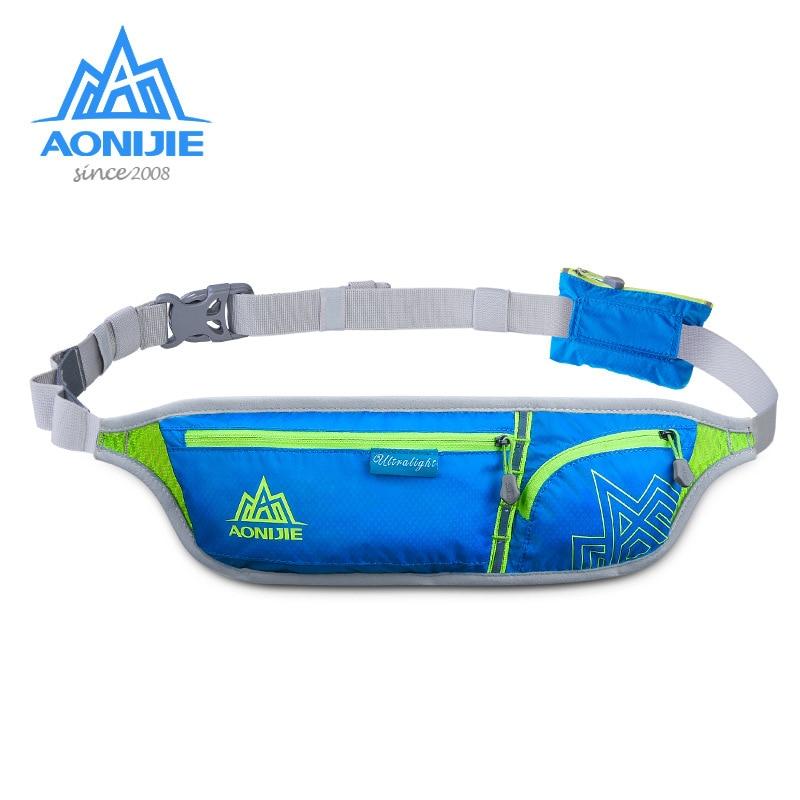 AONIJIE Waist Bag Sport Purse Fanny Pack Bum Bag Belt Bag Running Marathon Travelling Pocket