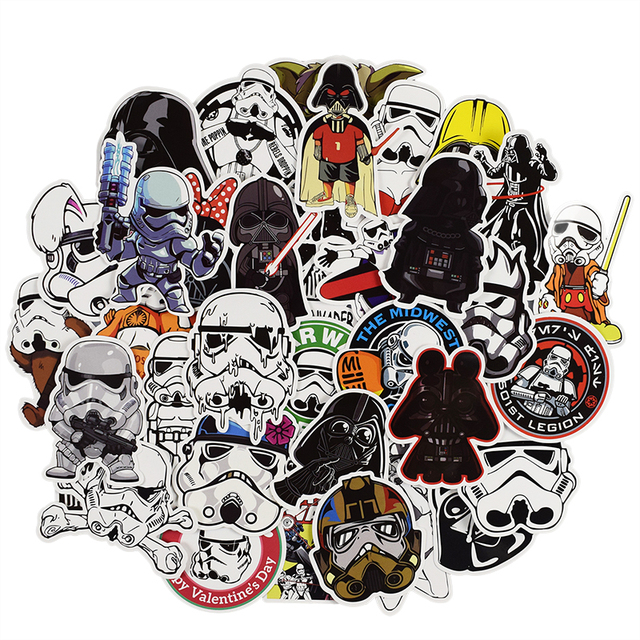 50 pcs anime sticker for laptop luggage bags car styling cool diy
