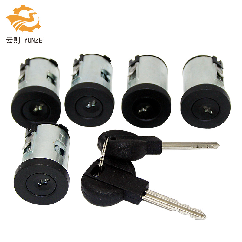 Auto Replacement Parts Beautiful 2992551 2991727 Ignition Barrel Key Ignition Switch Barrel Door Lock Barrel For Iveco Daily 2000-2006 Door Lock Set Automobiles & Motorcycles