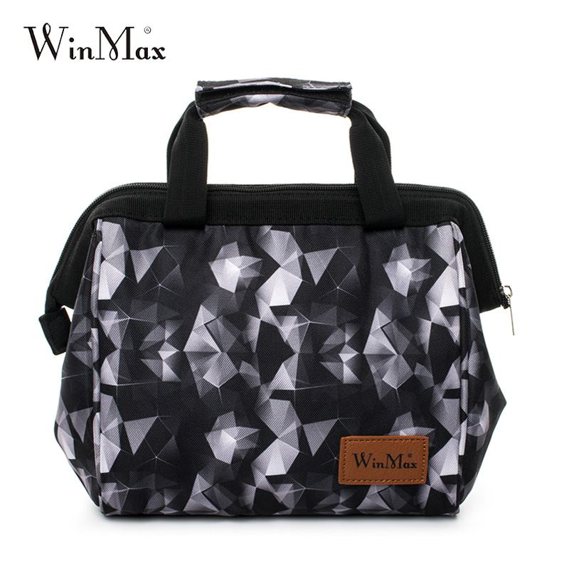 Winmax Brand Thicken Lunch Bag Cooler Lunch box Insulated Thermal Food Fruit Fresh keep Ice storage Handbags for Men Women Kids