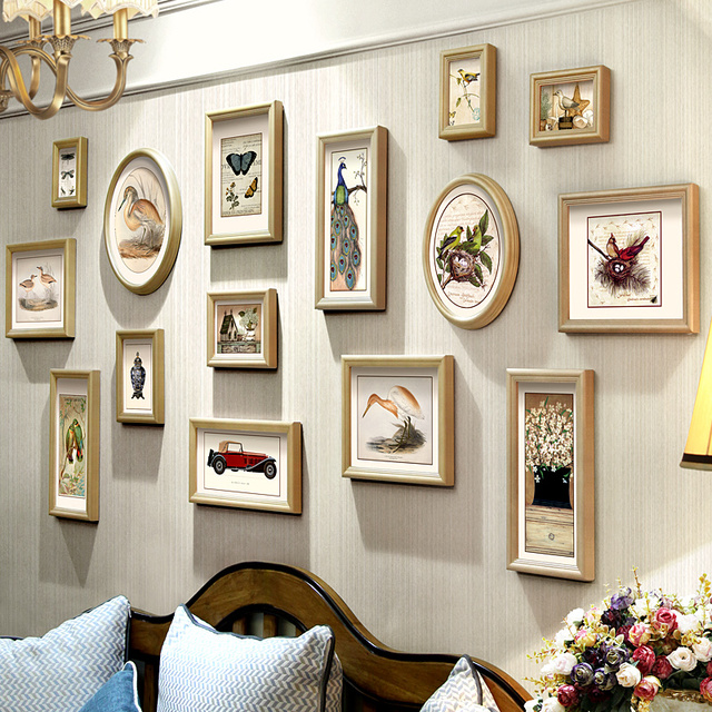 White Photo Frame Set 15 Piece 12 Inch Wooden Handmade Picture ...