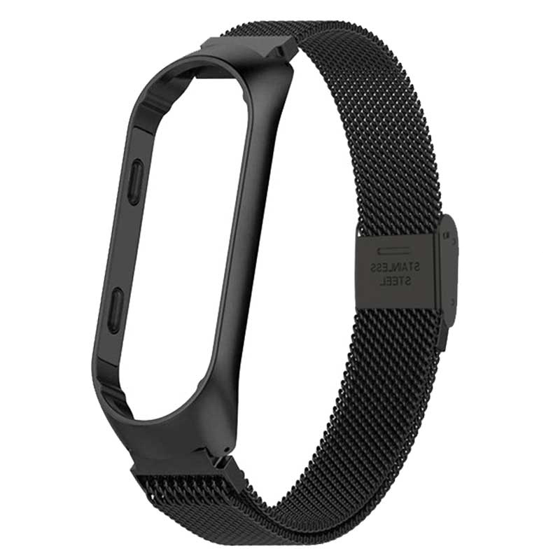 Image 5 - Rovtop Strap For Xiaomi Mi Band 3 Strap For Xiaomi Miband 4 Bracelet For Xiaomi Mi Band 3 Band 4 Metal Screwless Stainless Steel-in Smart Accessories from Consumer Electronics