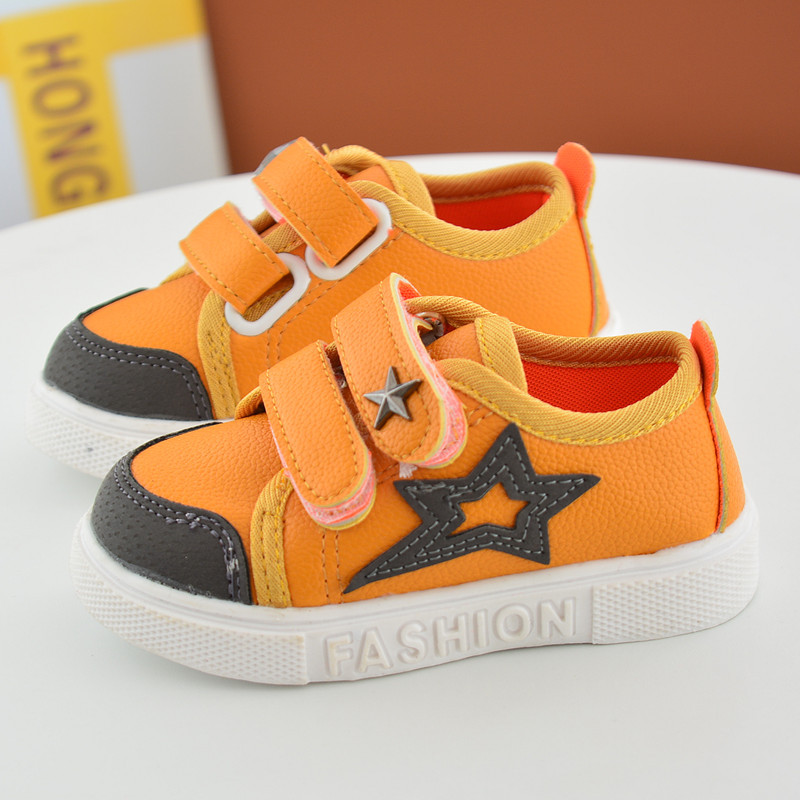 16 New Small Children Canvas Shoes For Kids Baby Boys Canvas Star Shoes Girls Flat Sneakers Low Casual School Students Shoes 7