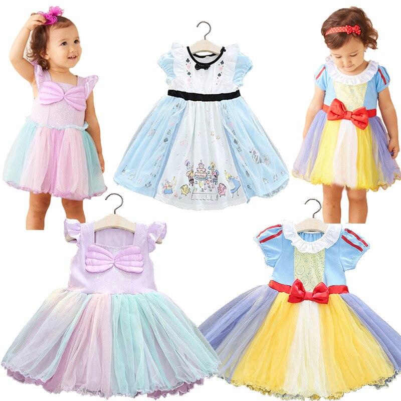 2018 children's clothing new Alice princess dress girls dress children's Halloween costume children's dress birthday gift