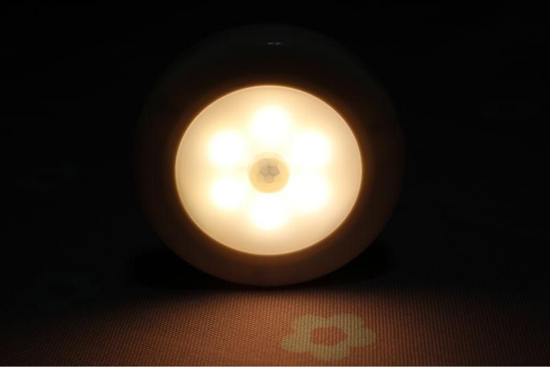 Luzes da Noite 6 pçs/set pir motion sensor Modelo Número : 009r