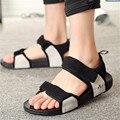 Men's shoe leather sandals Vietnam 2016 new outdoor male han edition leisure summer sandals beach shoe