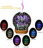 3D aromatherapy machine humidifier commercial ultrasonic creative aromatherapy lamp colorful night light office gift