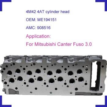 Mitsubishi Canter Fuso için 3.0L 2007-4M42 çıplak araba motor silindiri kafası AMC 908 516 ME194151 DOHC