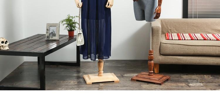 Clothes mannequins female half body mannequin cloth belt female wedding dress mannequin women\'s fabric mannequin (2)