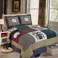 Manual quilting 100% cotton bedding set bed cover air conditioning bedspread 230x250cm Patchwork Coverlet Bed Cover New
