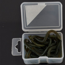 20g / Box Soft Lure Fishy Smell Earthworm Blood Worms Maggots Sea Worm Simulation Lures Artificial Bait Fishing Accessories
