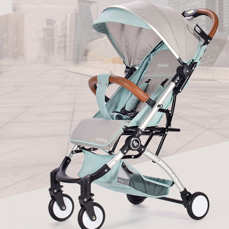 все цены на baby strollers ultra-lightweight folding can sit can lie high landscape umbrella baby trolley summer and winter