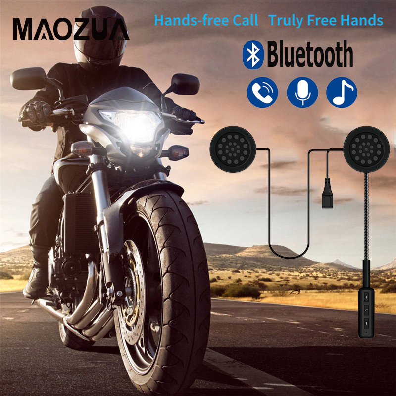 Wireless Handsfree Bluetooth 4.1 Motorcycle Helmet Headsets For Moto Rider Anti-interference Motorbike Helmet Earphone Speaker