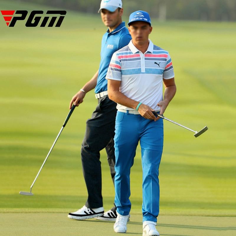 PGM Marka Suya davamlı golf şalvarları Kişi Asudə şalvarlar uzun müddət nəfəs ala bilən tez quru elastik yumşaq işıq nazik Golf Şalvar kişi XXL