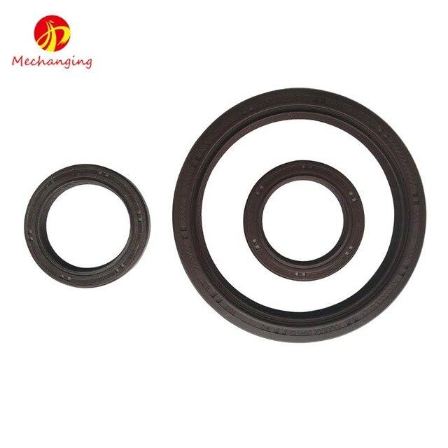 gasket seal. for toyota tercel saloon 1.5l 3pcs 5efe 5e-fe crankshaft oil seal gasket automotive g