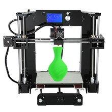 Оптовая продажа Анет A6 3D-принтеры RepRap Prusa i3 рабочего DIY 3D-принтеры комплект с 12864LCD Экран и нити