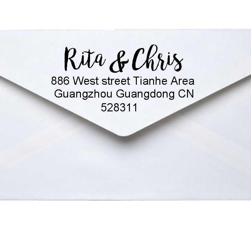 Custom Return Address Self Inking Stamp