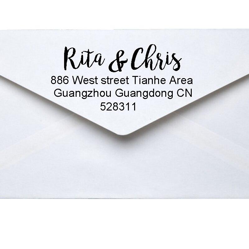 Return Address Self Inking Stamp Rubber