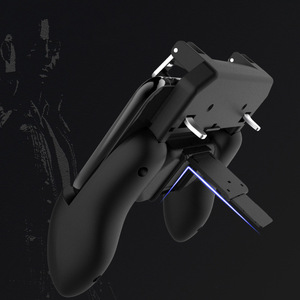 Image 3 - 3 in 1PUBG Smart Phone Mobile Gaming Trigger Pubg Controller Fire Button Aim Key L1 R1 Gaming Joysticks Mobile Gamepad