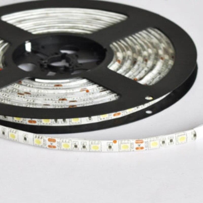 Անջրանցիկ 60Leds 5050SMD Led Strip ճկուն թեթև IP65 - LED լուսավորություն - Լուսանկար 3