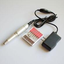 ไฟฟ้าเล็บขัดไฟล์โปแลนด์เครื่องมือเจาะแบบพกพาแต่งเล็บร้านทำเล็บชุดบัฟเฟอร์