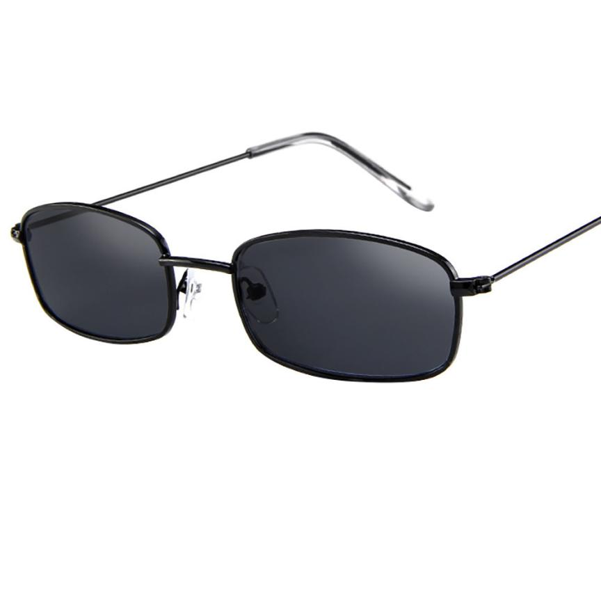f4418fc0044  5 2018 NEW Fashion Vintage Glasses Women Man Square Shades Small  Rectangular Frame Sunglasses Free ship-in Sunglasses from Apparel  Accessories on ...