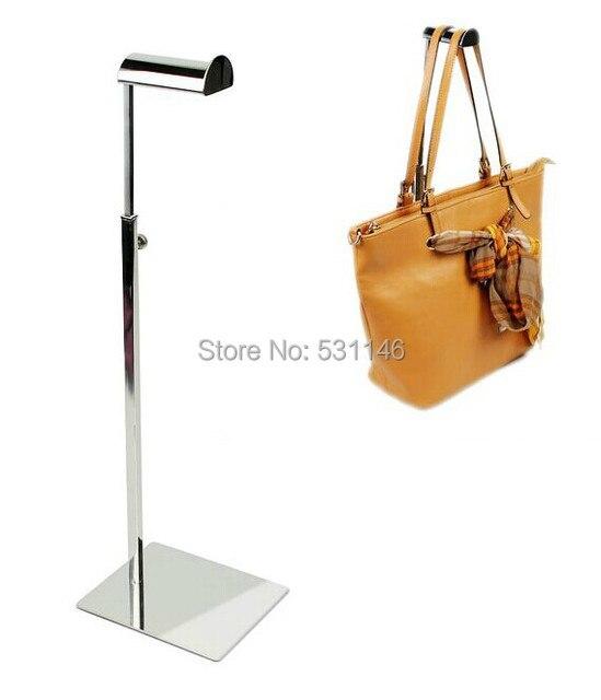 Metal Handbag Rack Display Stand Store Bag Hooks Holder In Storage