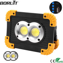 BORUiT 20W COB LED Portable Lantern USB Charging Power Bank Tent Light IPX4 Waterproof Searchlight Outdoor Work Floodlight(China)