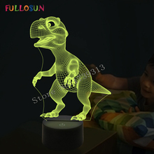 hot deal buy 2016 new amazing 3d animal lamp led night lights with 7colors lights as home decoration or kids gifts.