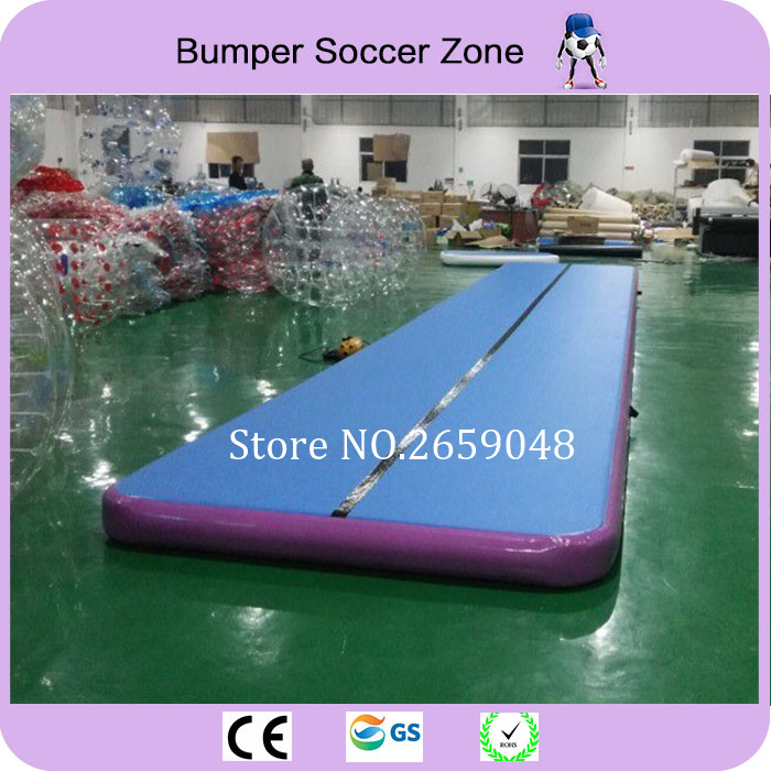 Free Shipping Inflatable Gymnastics Tumbling Air Track 12x2m Tumbling Mat Air Track Floor Mat Inflatable Gym Airtrack With Pump