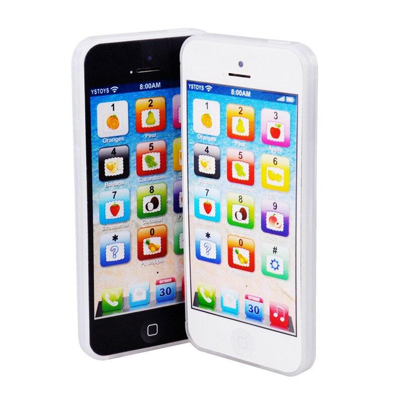 Multifunzionale GIOCATTOLO Telefono 5 S di Apprendimento Inglese ABC Del Telefono Mobile del Giocattolo Di Puzzle Giocattolo di Simulazione Mini Macchina Giocattolo Educativo