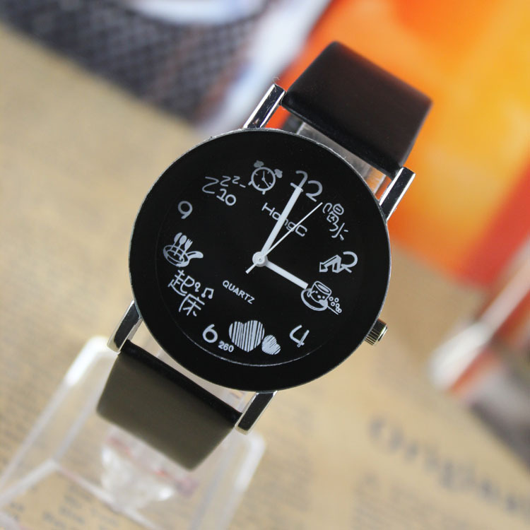 Fashion Casual Women Top Brand New Quartz Soft PU Leather Strap Luxury Wristwatch Women font b