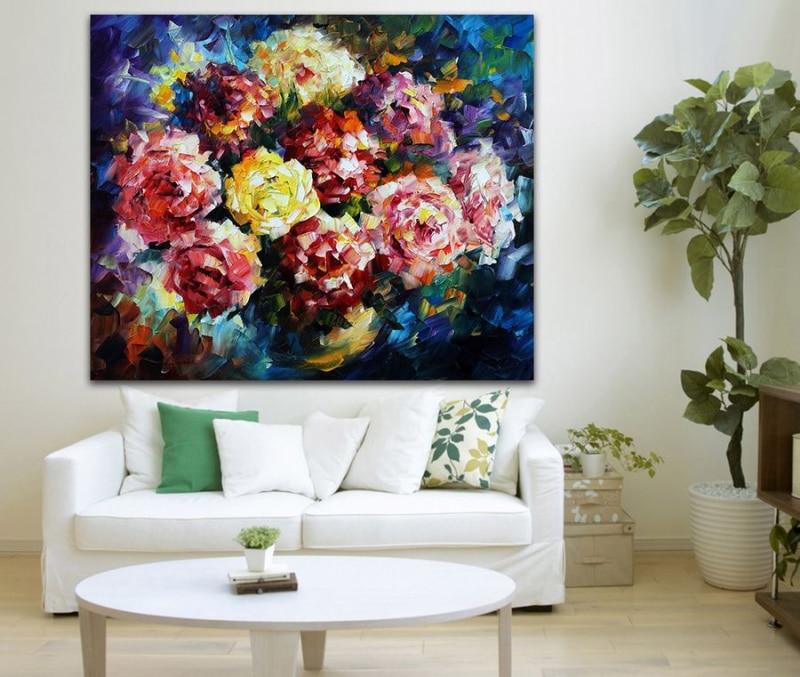 Acquista all 39 ingrosso online mazzi di fiori dipinti ad for Dipinti ad olio fiori