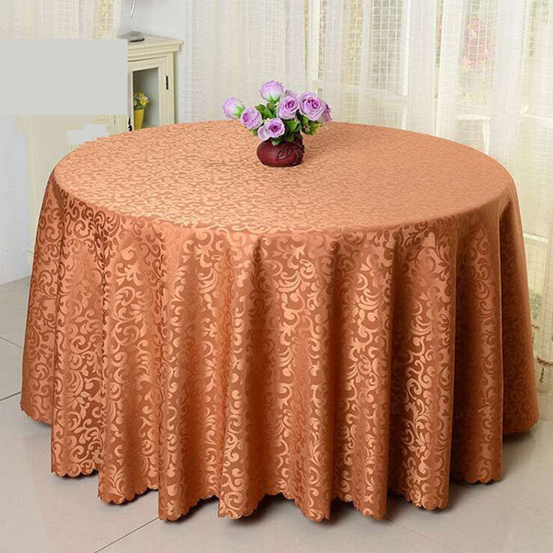 Europe Modern Table Cloth Jacquard Table Cover Hotel Wedding Tablecloths  Banquet Party Tablecloth Decor Round Square