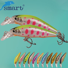 SMART Sinking Minnow Bait 42mm/3.66g Hard Fishing Lure Fake Feeder Baits Isca Artificial Para Pesca Leurre Peche Fishing Wobbler