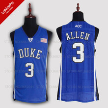 3aa582095 Cheap Grayson Allen Basketball Jerseys No.3 Duke University Blue Devils  Throwback High Quality Retro Stitched Embroidery Shirts