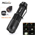 Alonefire SK98 CREE XM-L2 LED Zoomable LED Flashlight 2000Lumens Torch light for 18650 Battery