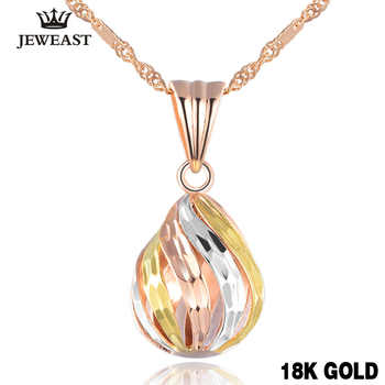 Popular 18k Rose Gold Charm Pure Solid Pendant Jewelry Lucky Beads Women Girl Elegant Fashion New Design Classic 2017 Welcome - DISCOUNT ITEM  55% OFF All Category